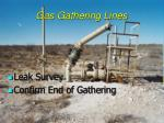 gas gathering lines