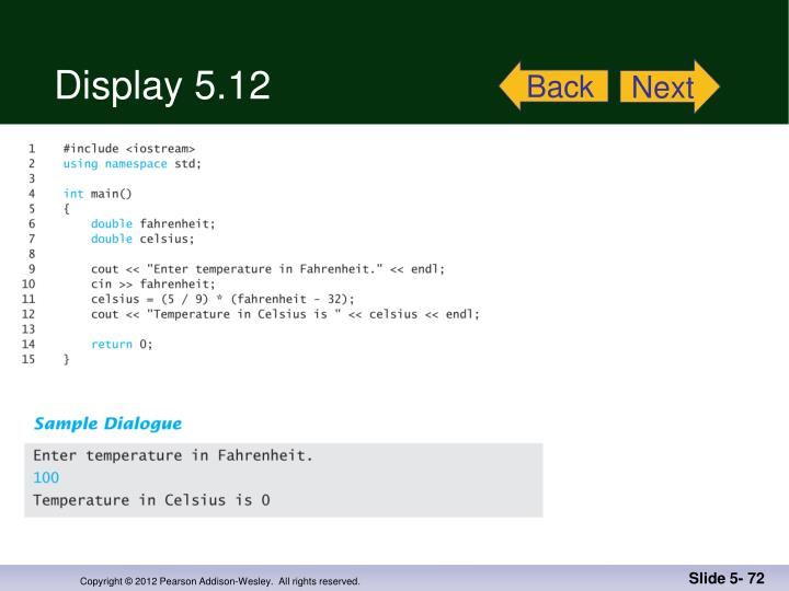 Display 5.12