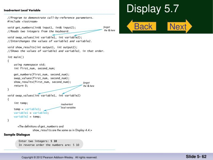 Display 5.7