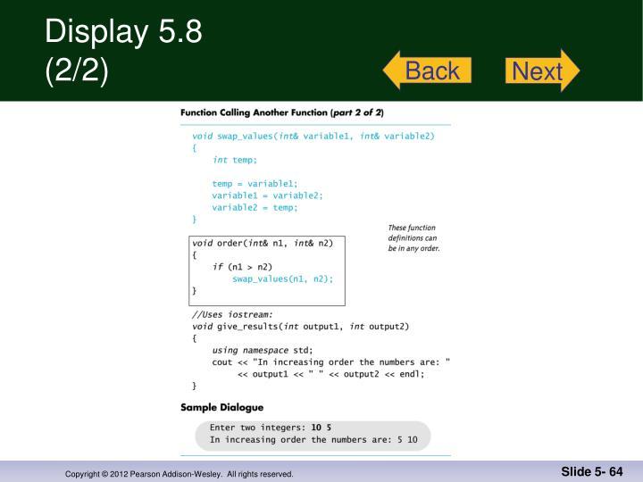 Display 5.8