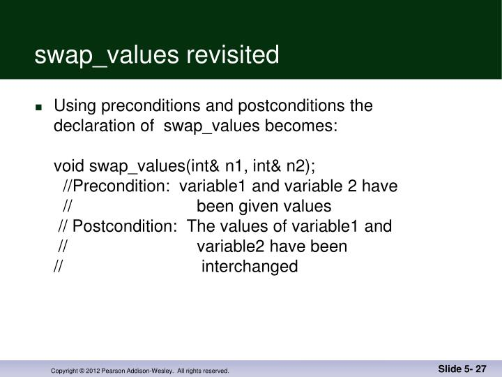 swap_values revisited