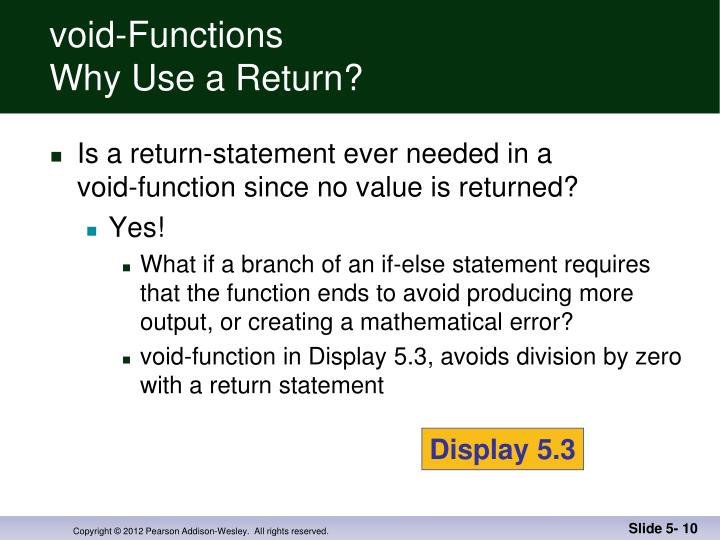 void-Functions