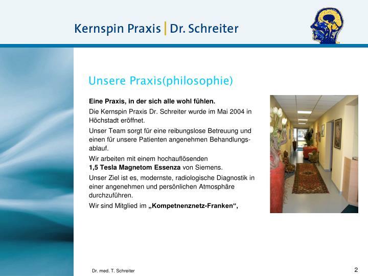 Unsere Praxis(philosophie)