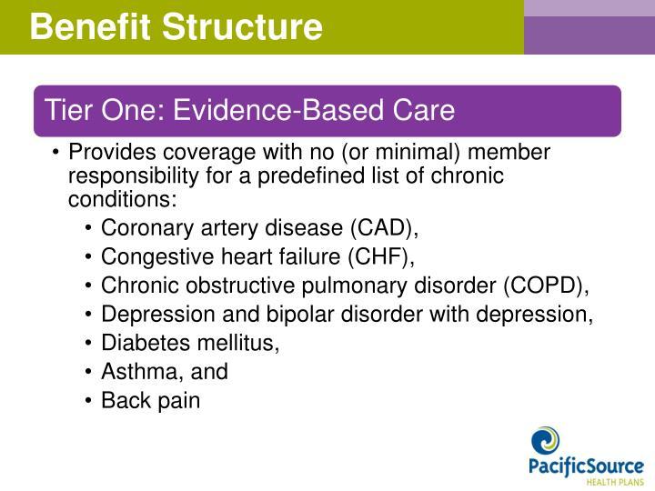 Benefit Structure
