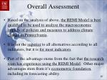 overall assessment