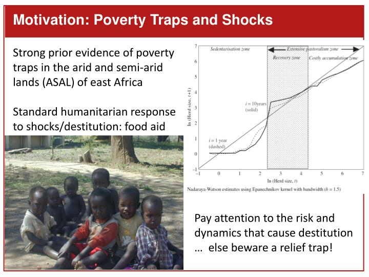 Motivation: Poverty Traps and Shocks