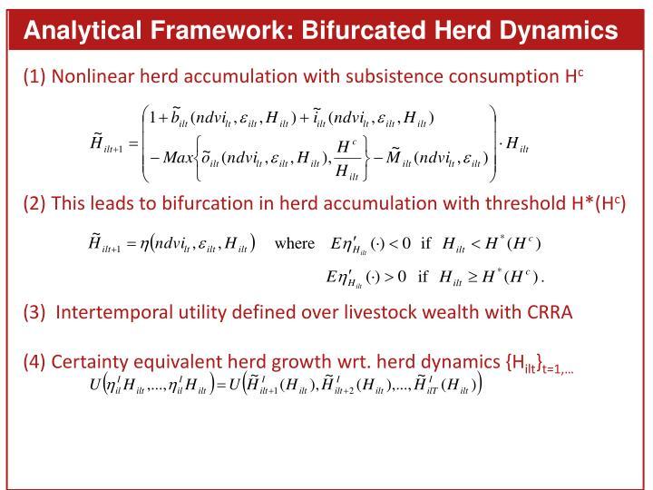 Analytical Framework: Bifurcated