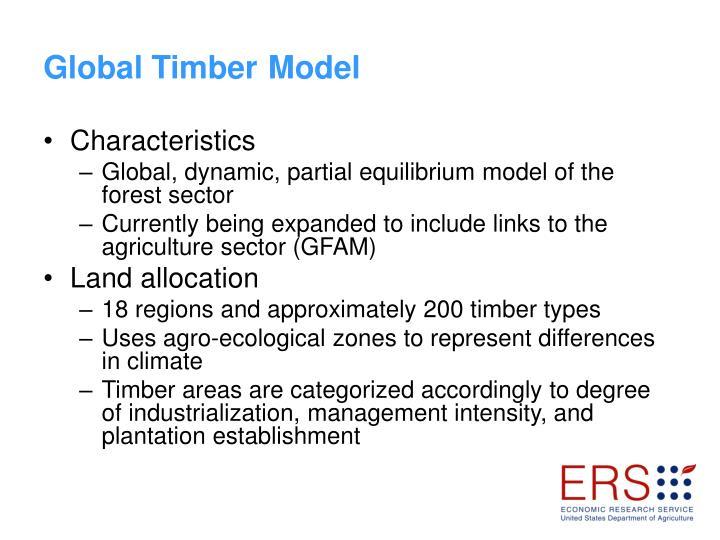 Global Timber Model
