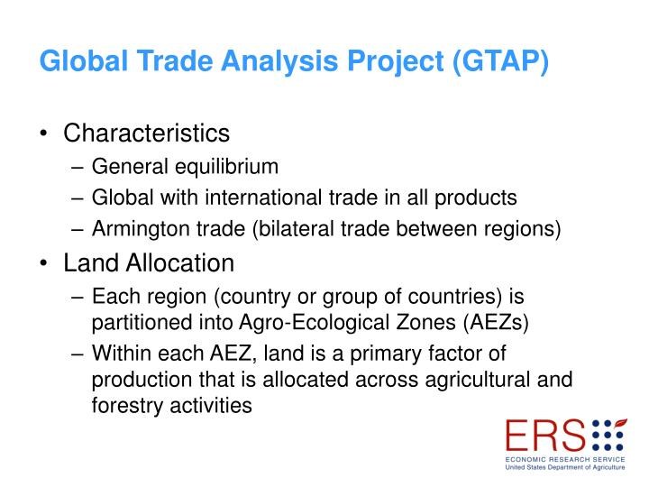 Global Trade Analysis Project (GTAP)