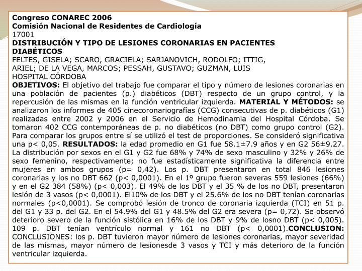 Congreso CONAREC 2006