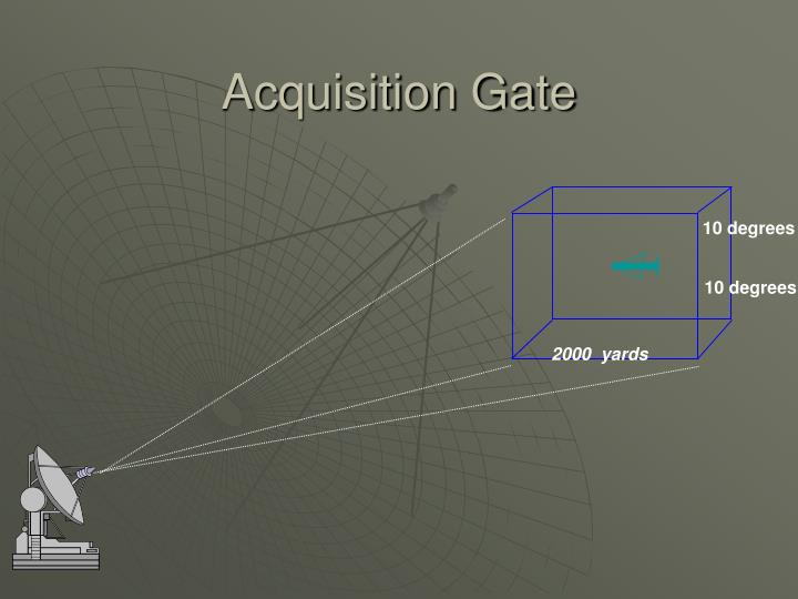 Acquisition Gate