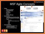 msf agile concepts