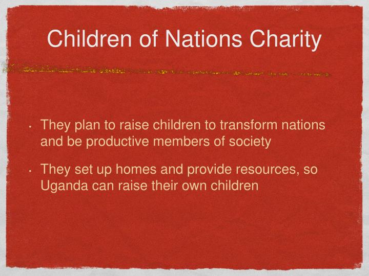 Children of Nations Charity