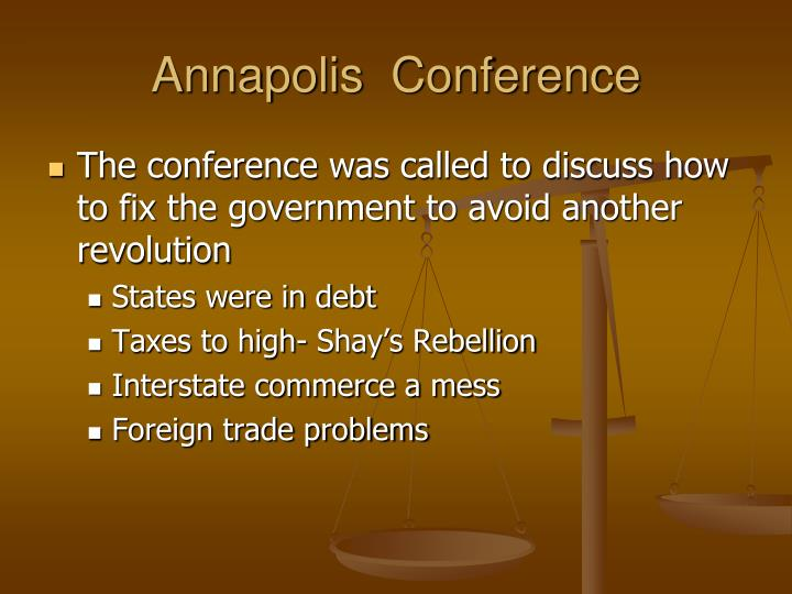 Annapolis  Conference
