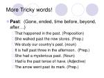 more tricky words