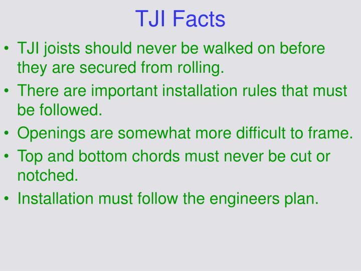 TJI Facts