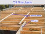 tji floor joists