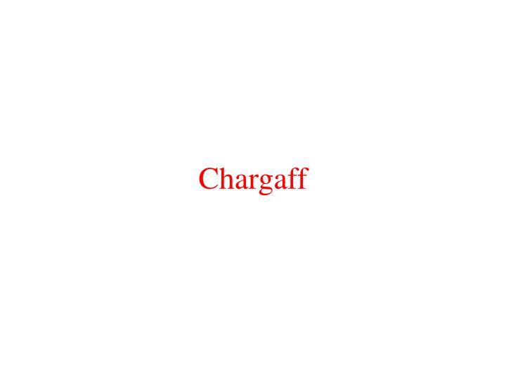 Chargaff