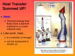 heat transfer summed up