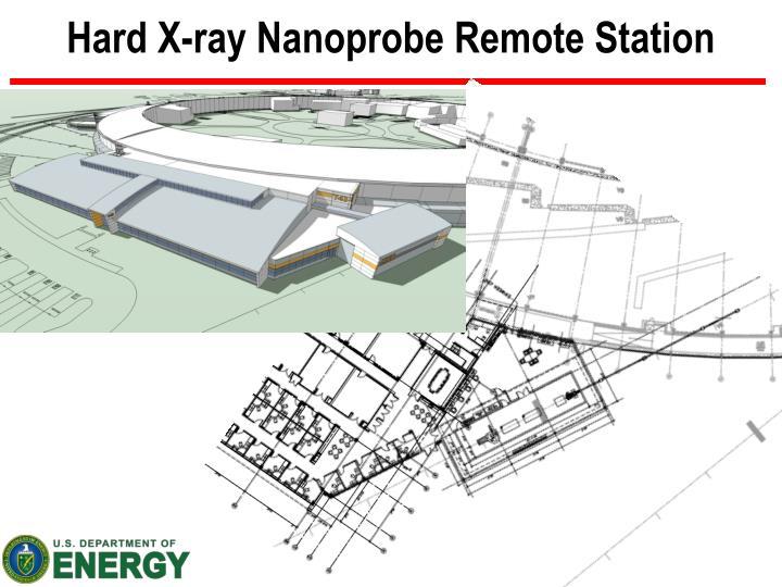 Hard X-ray Nanoprobe Remote Station