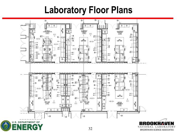 Laboratory Floor Plans