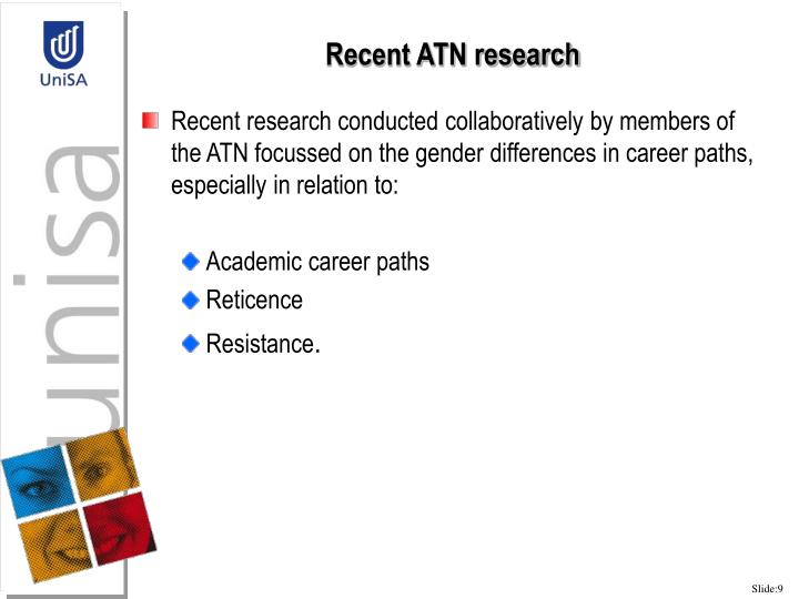 Recent ATN research