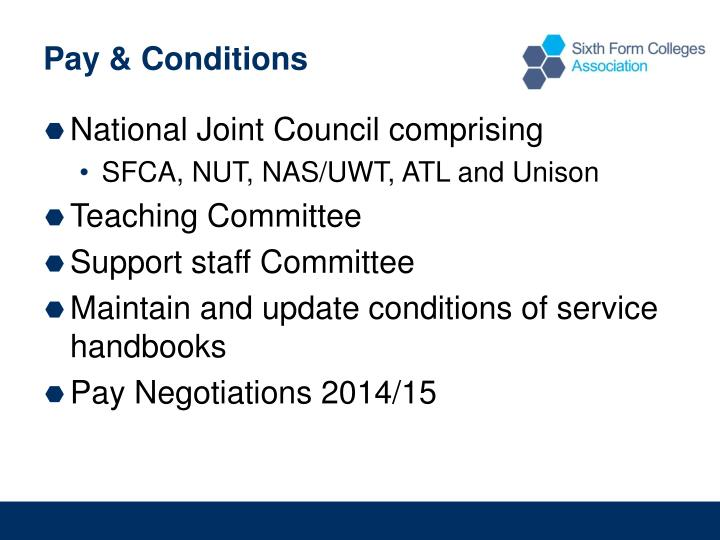 Pay & Conditions
