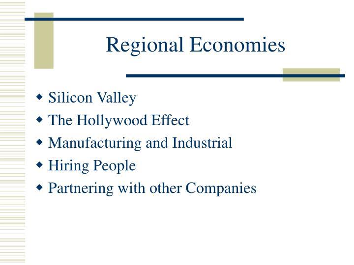 Regional Economies