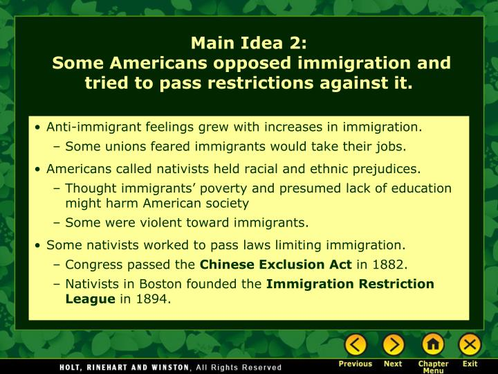 Anti-immigrant feelings grew with increases in immigration.