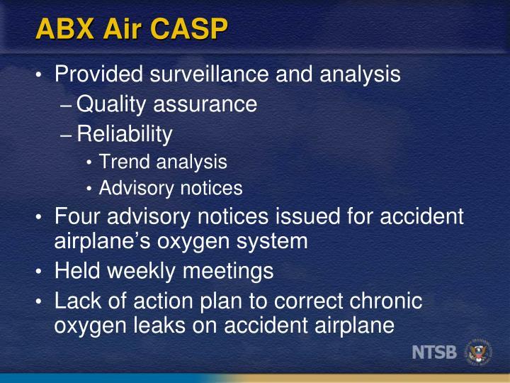 ABX Air CASP