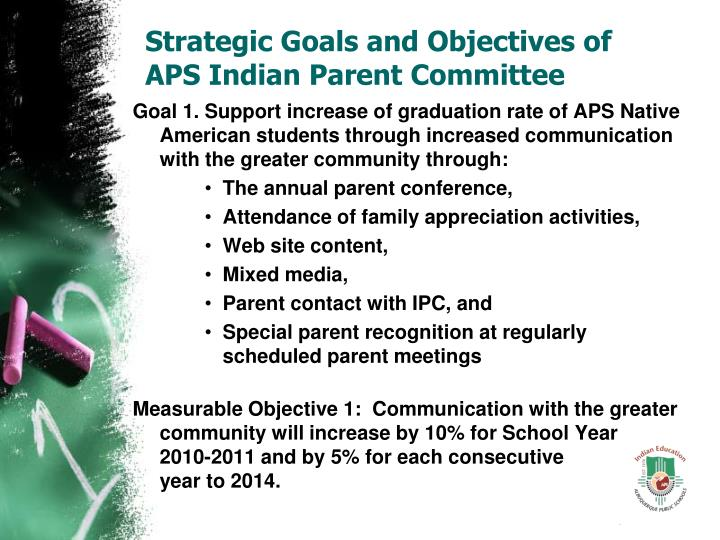 Strategic Goals and Objectives of