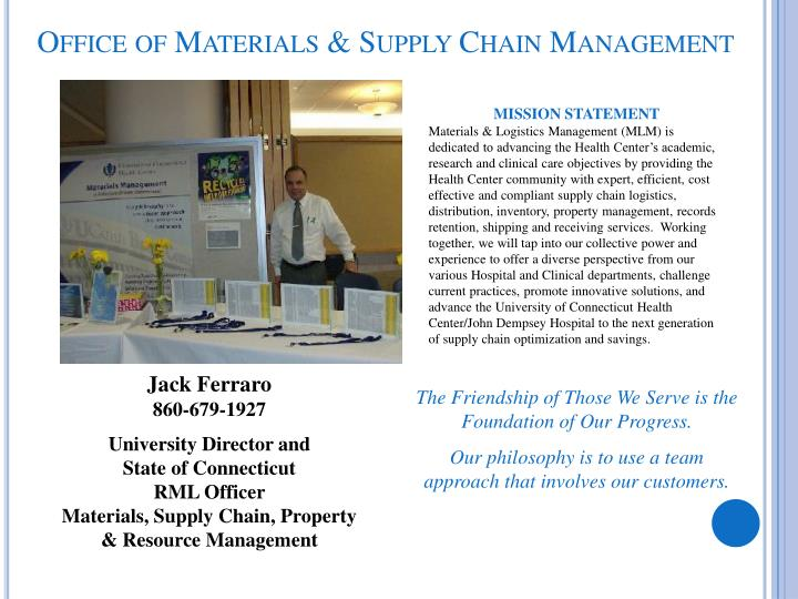 Office of Materials & Supply Chain Management