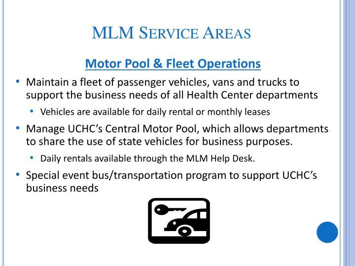 Motor Pool & Fleet Operations