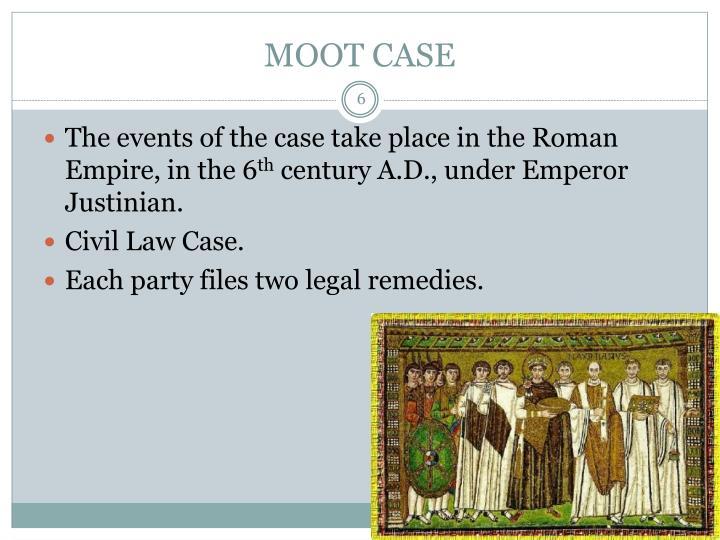 MOOT CASE