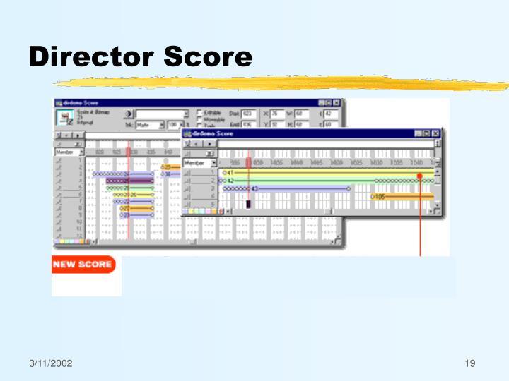 Director Score