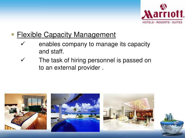 Flexible Capacity Management