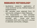 research metodology