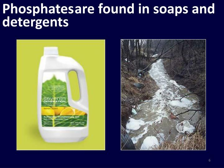 are found in soaps and