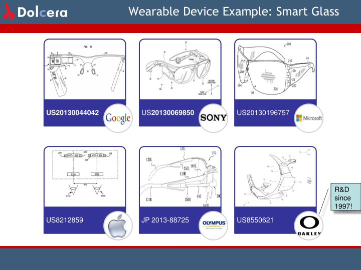 Wearable Device Example: Smart Glass