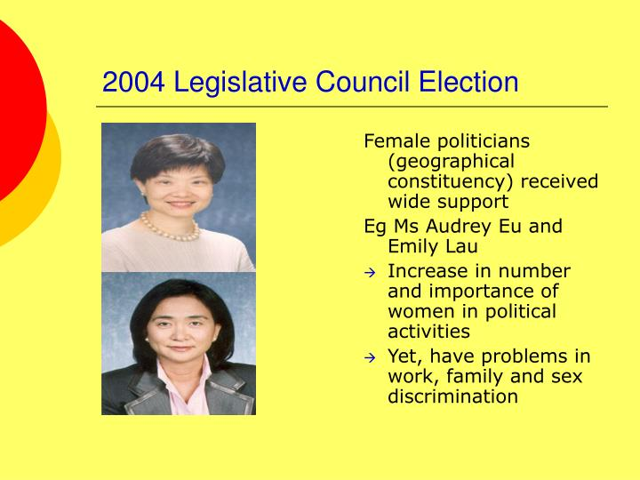 2004 Legislative Council Election