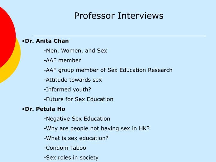 Dr. Anita Chan