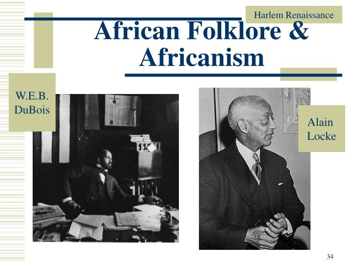 African Folklore & Africanism