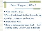 duke ellington 1899