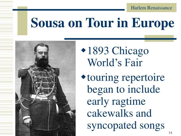 Sousa on Tour in Europe