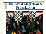 the great migration urbanization