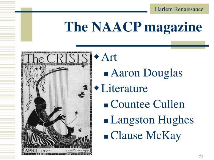 The NAACP magazine