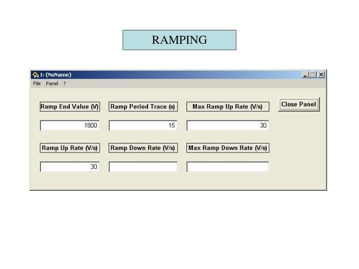 RAMPING