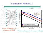 simulation results 2