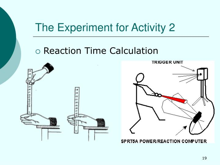 The Experiment for Activity 2