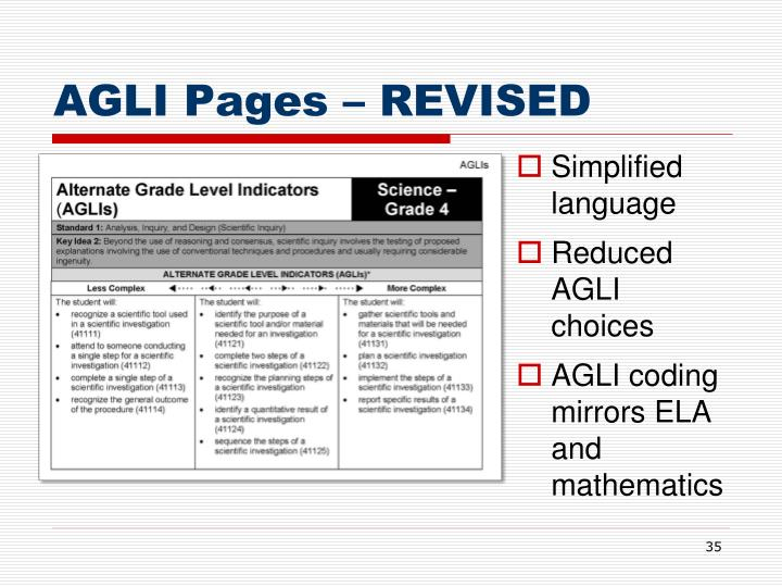 AGLI Pages – REVISED